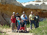 Local Mensans at the paint mines